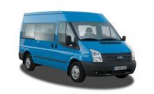 Minibus met ruime bagageruimte en trekhaak - 9 zitplaatsen - (kl 55)