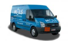 Bestelwagen groot laadvermogen met trekhaak - 3 zitplaatsen - LEZ toegestaan (kl 36)