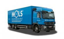 Maxi vrachtwagen met laadklep - 2 zitplaatsen - LEZ toegestaan (kl 85)