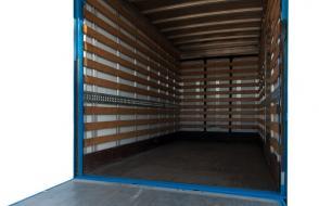 Maxi verhuiswagen met laadklep - 3 zitplaatsen (kl 49)