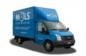Compacte verhuiswagen met laadklep - 3 zitplaatsen - LEZ toegestaan (kl 45)